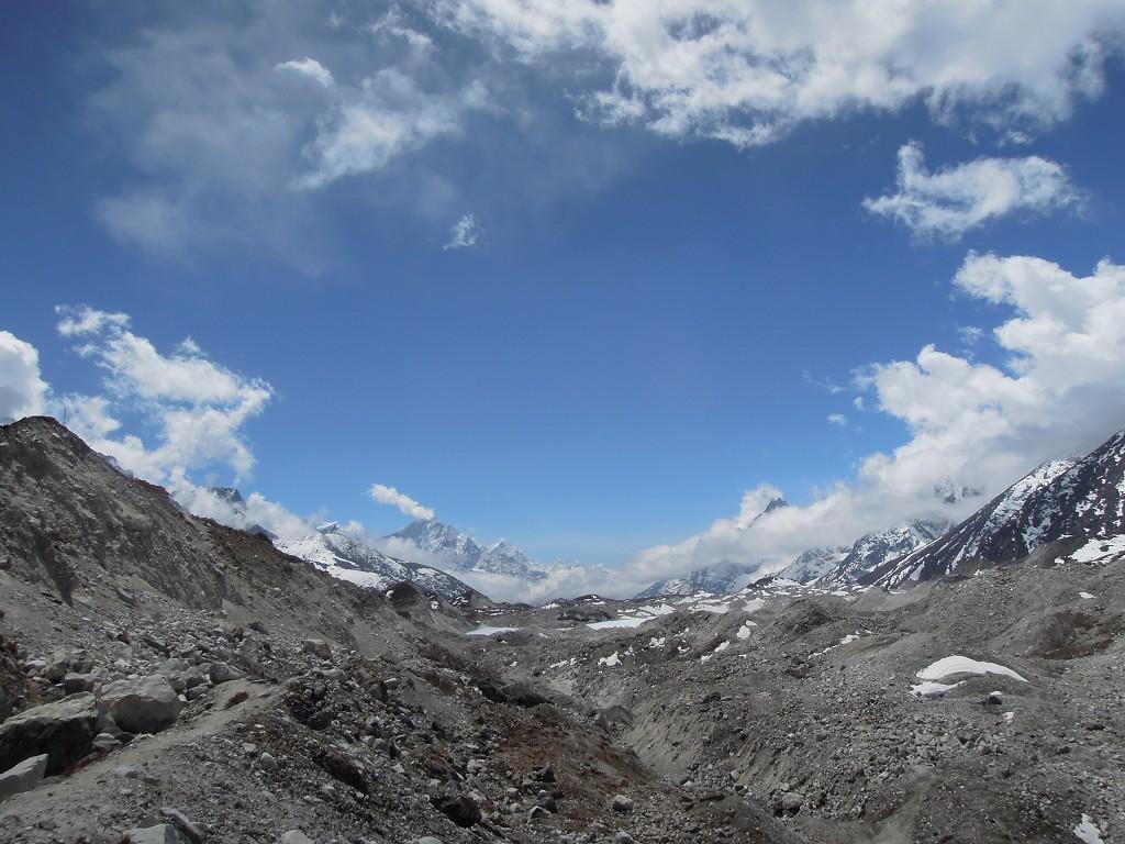 Ngozumpa-Gletscher